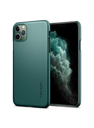 Spigen iPhone 11 Pro Max Aksesuar Yeşil
